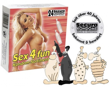 415332 Set kondómov Sex 4 Fun