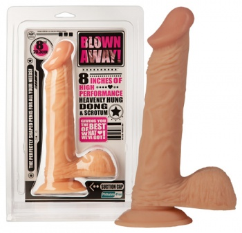 524166 Realistické dildo Blown Away