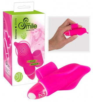 584045 Vibrátor na prst Sweet Smile Little Dolphin