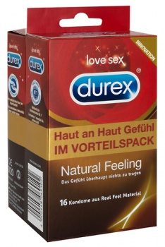 412031 Kondómy Durex Natural Feeling