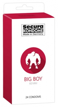 416339 Kondómy Secura Big Boy 24 ks
