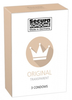 416410 Kondómy Secura Original 3 ks