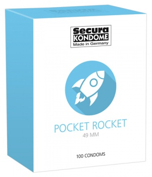 416312 Kondómy Secura Pocket Rocket 100 ks