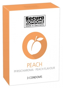 416134 Kondómy Secura Peach 3 ks